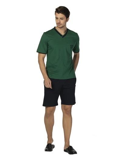 D'S Damat Ds Damat Yesıl Pijama Takımı Yeşil